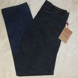 🆕️ Navy and Black True Religion No Flap Jeans
